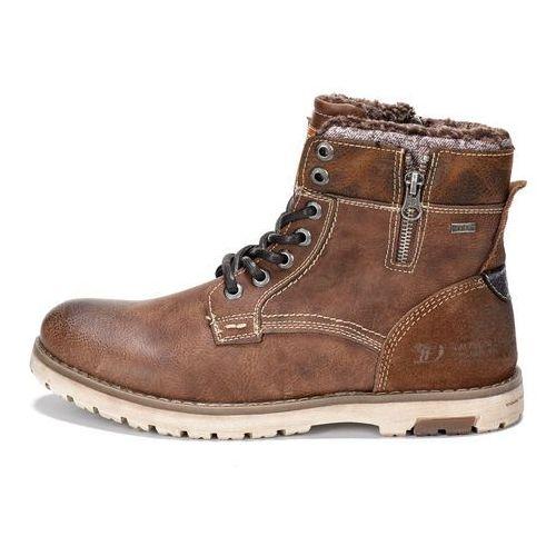 Tom Tailor buty za kostkę męskie 41 brązowy (4058219264061)