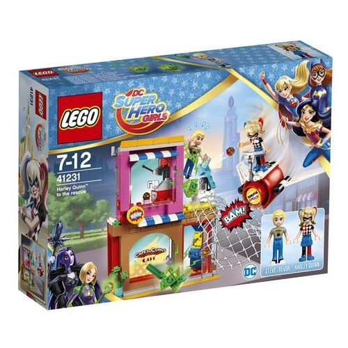Lego HERO FACTORY Dc super hero girls, harley quinn na ratunek 41231