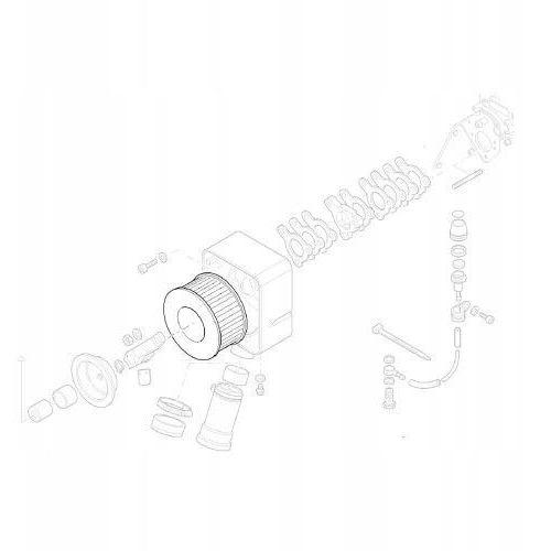 Hatz 01493000 filtr powietrza 1d60 1d81 1d90 oryginalny