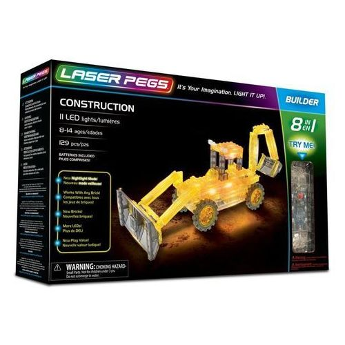 8 in 1 Construction - Laser Pegs
