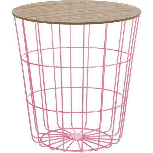 Stolik Suny - różowy