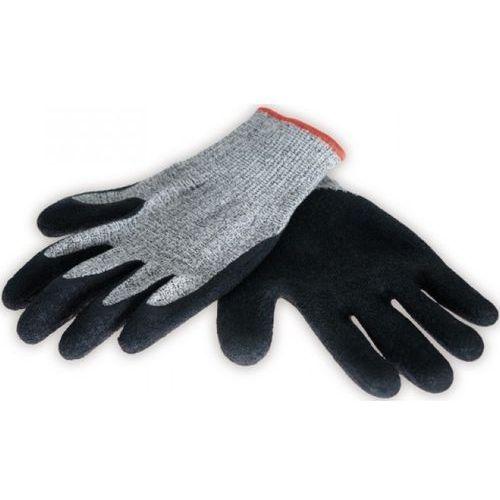 Rękawice ochronne DEDRA BH1004 antyprzecięciowe Szaro-czarny (5902628210159)