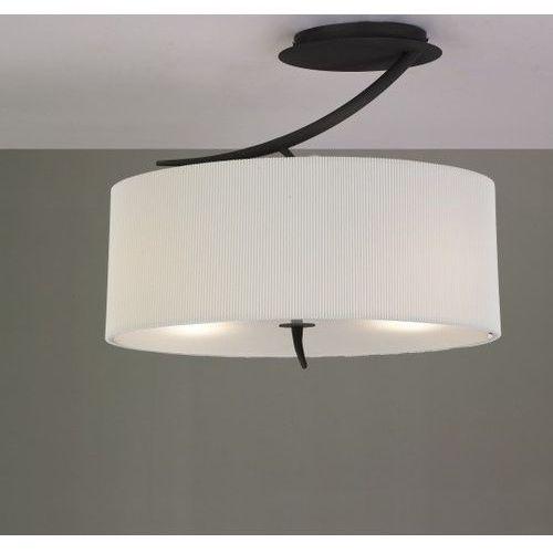 Lampa sufitowa/plafon eve 2l antracyt z kremowym kloszem, 1152 marki Mantra