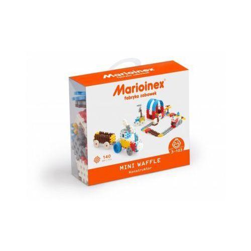 Marioinex Klocki waffle mini 140 sztuk chłopiec - DARMOWA DOSTAWA OD 199 ZŁ!!!