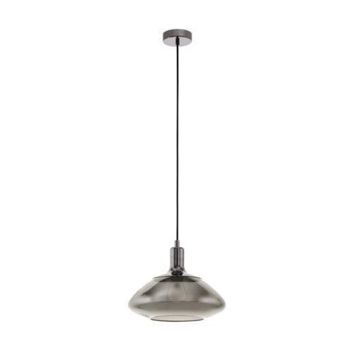 Eglo Torrontes 98291 lampa wisząca zwis oprawa 1x60W E27 nikiel- nero, 98291