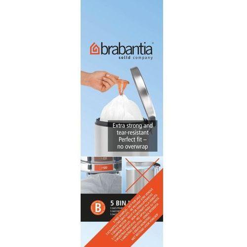 - worki na śmieci - rozmiar b – 5l - 20 szt marki Brabantia