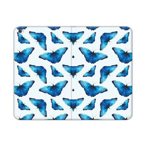 Apple iPad Mini 4 - etui na tablet Flex Book Fantastic - niebieskie motyle, ETAP273FBFCFB049000