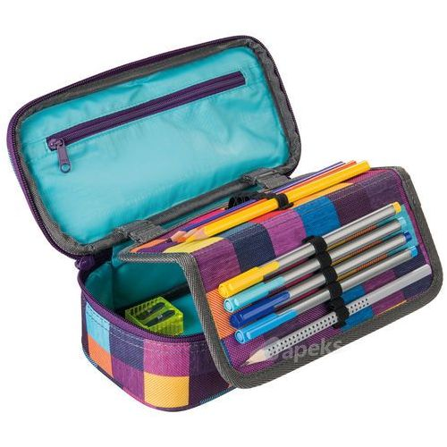 Piórnik Coocazoo PencilDenzel II Walk The Line Purple - (001299110000) Szybka dostawa! Darmowy odbiór w 21 miastach! (4047443284945)