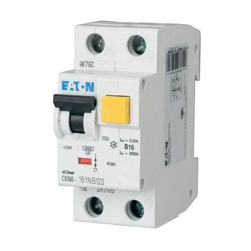 wyłącznik różnicowoprądowy ckn6-16/1n/b/003 30ma 241114 marki Eaton