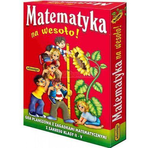 Matematyka na wesoło - quiz - gra planszowa marki Adamigo