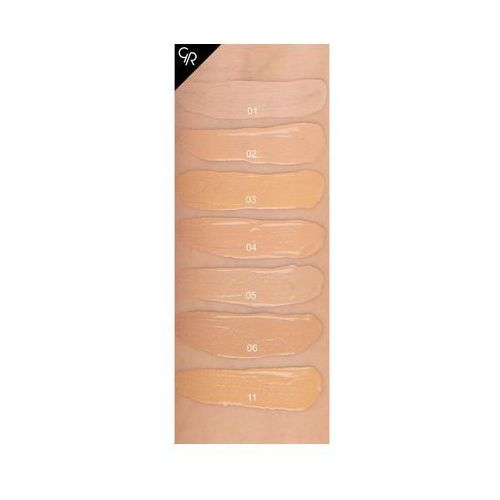 Golden Rose Total Cover 2 in 1 Foundation & Concealer Kryjący podkład i korektor 2w1 02 Ivory, 8691190963620