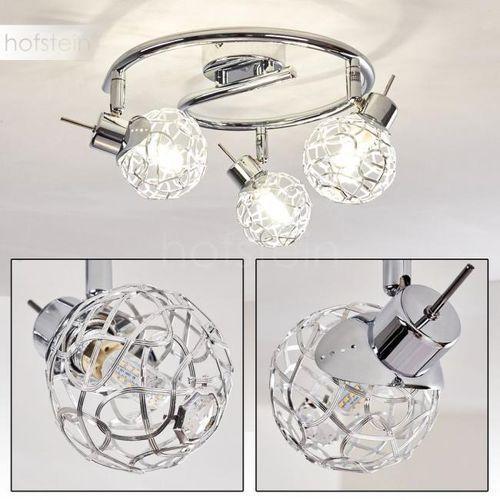 Kalipuro lampa sufitowa chrom, 3-punktowe - nowoczesny - obszar wewnętrzny - kalipuro - czas dostawy: od 3-6 dni roboczych marki Hofstein