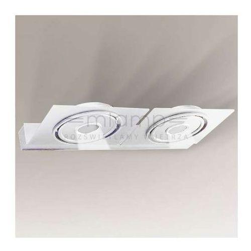 Kinkiet LAMPA ścienna SAPPORO IL 4437/LED/BI Shilo regulowana OPRAWA metalowa LED 20W 3000K-4000K spot biały