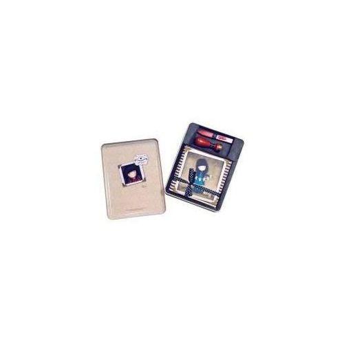 Zestaw kopert wraz z pieczęcią i woskiem - ruby marki Santoro