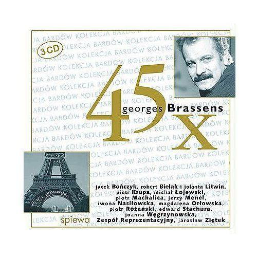 45 X Georges Brassens