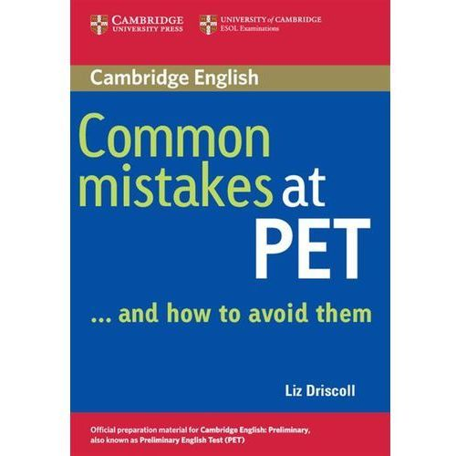 Common Mistakes At PET... And How To Avoid Them (9780521606844)