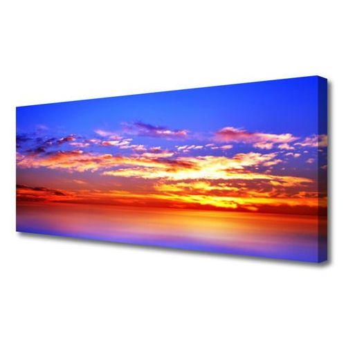 Obraz na Płótnie Niebo Chmury Morze Krajobraz