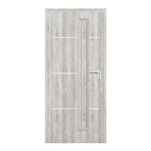 Drzwi pełne Nodo 60 lewe jesion szary, NOD045000
