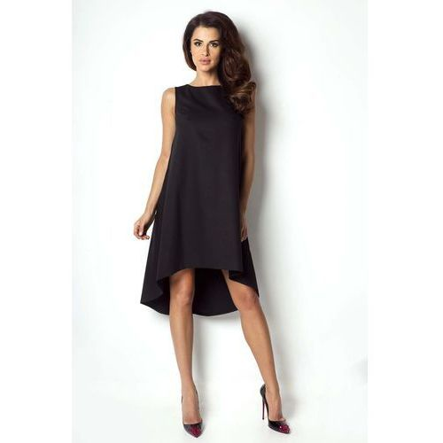 112cb067f2 Czarna Sukienka Asymetryczna Bez Rękawkó... Producent IVON  Rodzaj  asymetryczna ...