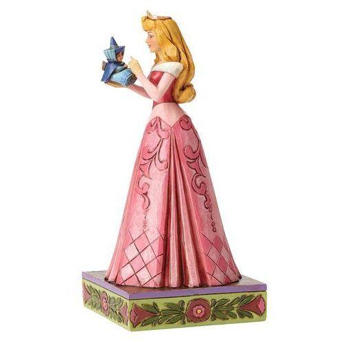 Jim shore Aurora, bajki disneya, śpiąca królewna, wonder and wisdom (aurora with fairy figurine) 4054275