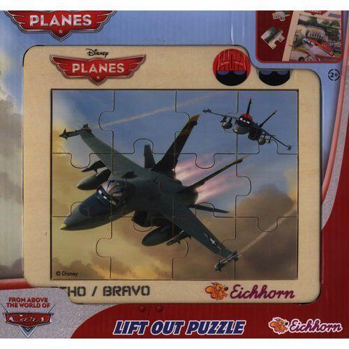 Puzzle w ramce samoloty echo / bravo 12 marki Eichhorn