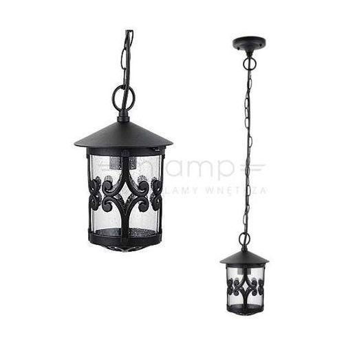 Zewnętrzna lampa wisząca palma 8538 ogrodowa oprawa zwis latarenka outdoor ip23 czarna marki Rabalux