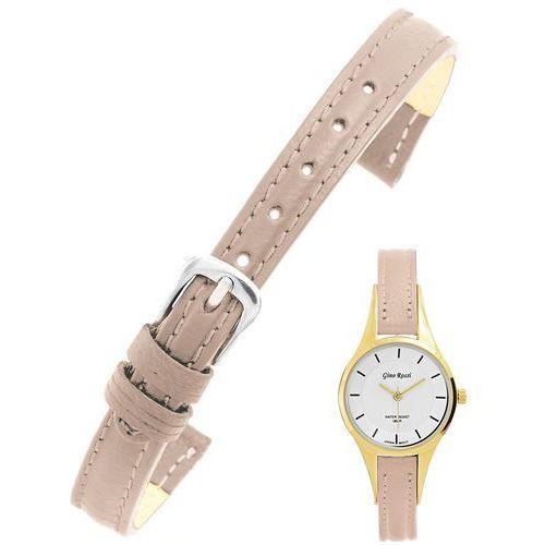 Pasek do zegarka GINO ROSSI model 8154 10mm /zamiennik/ beżowy