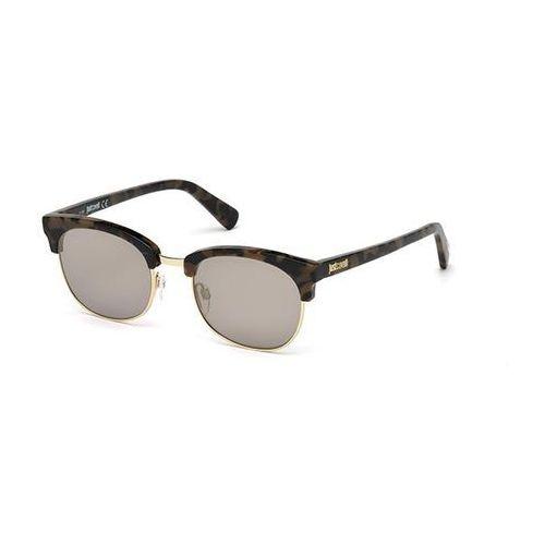 Okulary Słoneczne Just Cavalli JC 778S 52C, kolor żółty