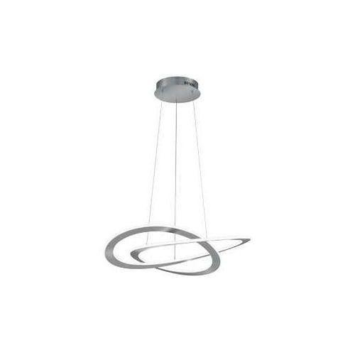 oakland 321710107 lampa wisząca zwis 1x60w led 3000k nikiel mat marki Trio