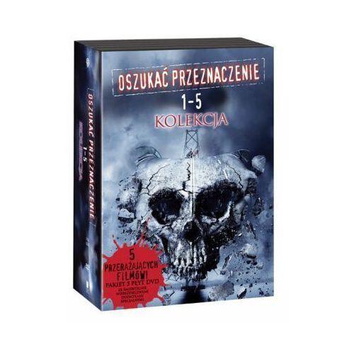 OSZUKAĆ PRZEZNACZENIE - PAKIET FILMÓW 1-5 (5 DVD) GALAPAGOS Films 7321909087002 (7321909087002)