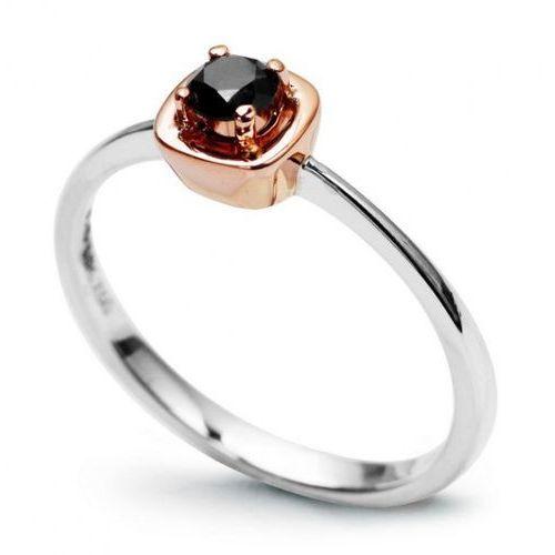 Złoty pierścionek PXD1542 - Diament