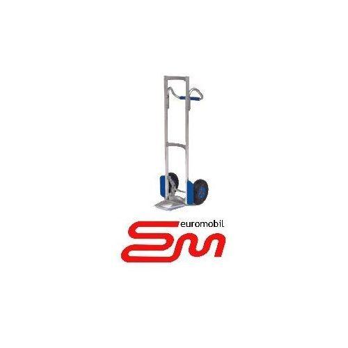 Wozki aluminiowe modulkar Wózek dwukołowy ręczny aluminiowy taczkowy loop (półka stała) modulkar