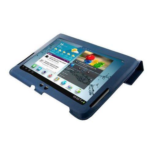 Etui 4WORLD 4-Fold Slim do Galaxy Tab 2 10.1 cala Granatowy, 1_299232