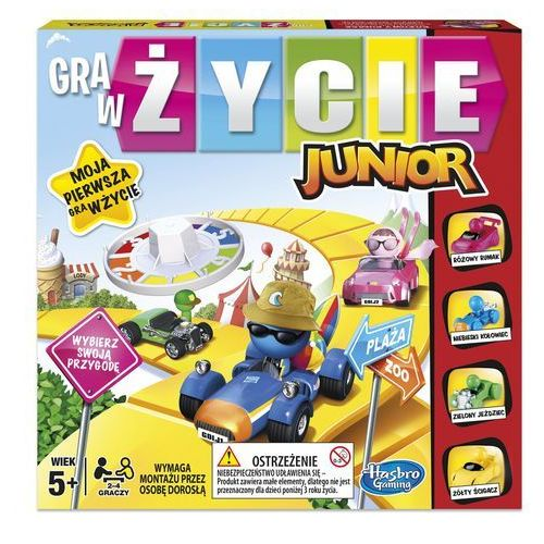 Gra hasbro w zycie junior b0 pud, AM_5010993406890