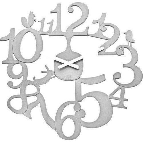 Zegar ścienny pi:p biały marki Koziol