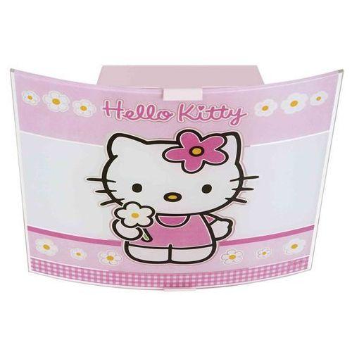 Plafon dziecięcy hello kitty 2xe27/60w marki Prezent