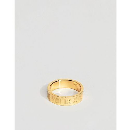 Mister roman ring in gold - Gold