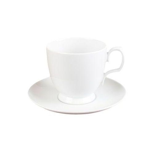 białe 2 filiżanki do cappuccino porcelana marki Chodzież