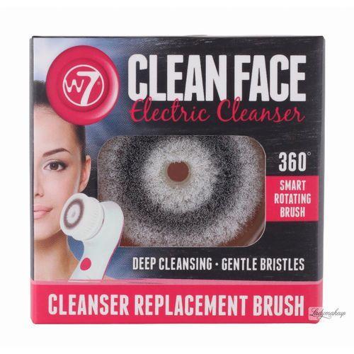 - electric face cleanser refil - wymienna nakładka do szczoteczki do mycia twarzy marki W7