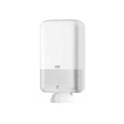 Dozownik do papieru toaletowego w składce biały marki Tork