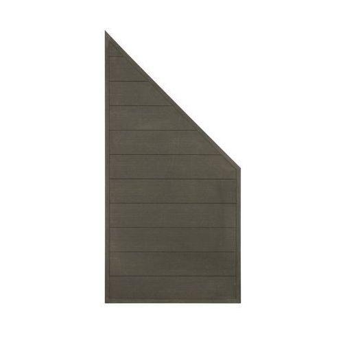 Płot kompozytowy 86.5x173 cm antracytowy wpc marki Winfloor