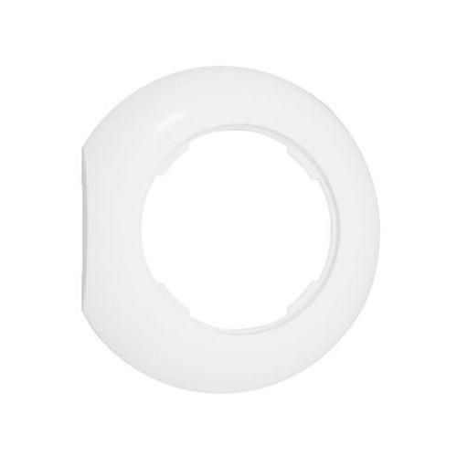 Ramka pojedyncza LF1001W KOŃCOWA LOFT biała DPM