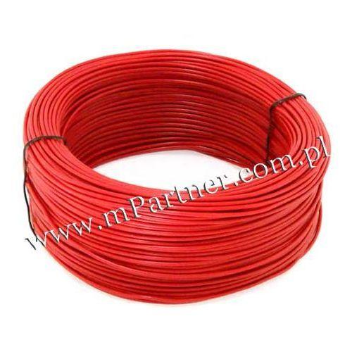 Przewód LGY 1x2,5mm czerwony 100m