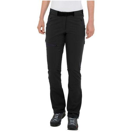 badile ii spodnie długie kobiety czarny 38 2018 spodnie softshell, Vaude