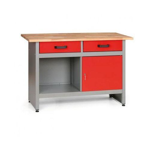 Stół roboczy HOBBY I z szufladami, szafką i półką (8595004158014)