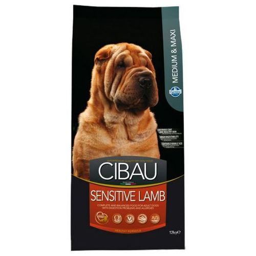 Farmina cibau sensitive lamb medium/maxi karma hipoalergiczna dla psów 12kg