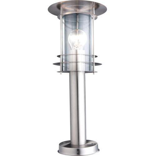 Zewnętrzny LAMPA stojąca MIAMI 3153 Globo metalowa OPRAWA ogrodowa IP44 outdoor srebrny (9007371107315)