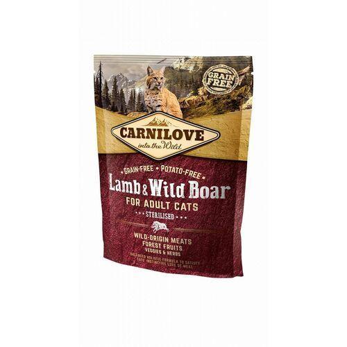 (bez zařazení) Carnilove cat adult lamb/wild boar - 400g (8595602512324)