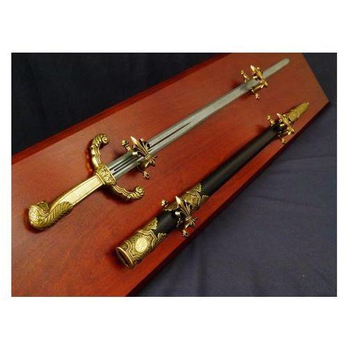 Denix Replika rosyjskiego miecza piotra wielkiego na tablo model 4122 l+td