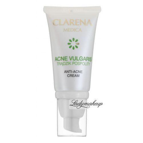 - anti-acne cream - krem redukujący zmiany trądzikowe na dzień i na noc - ref: 2110 wyprodukowany przez Clarena